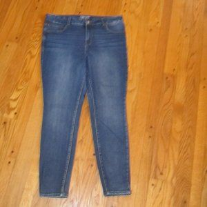 MAURICES EVERFLEX HIGH-RISE JEGGING JEANS 20W L